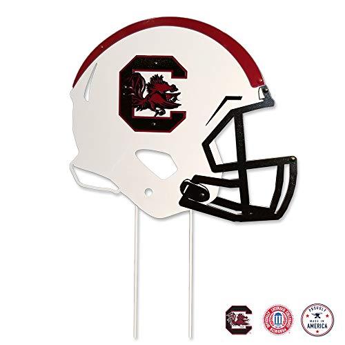 (Gameday Ironworks South Carolina Gamecocks Steel Football Helmet)