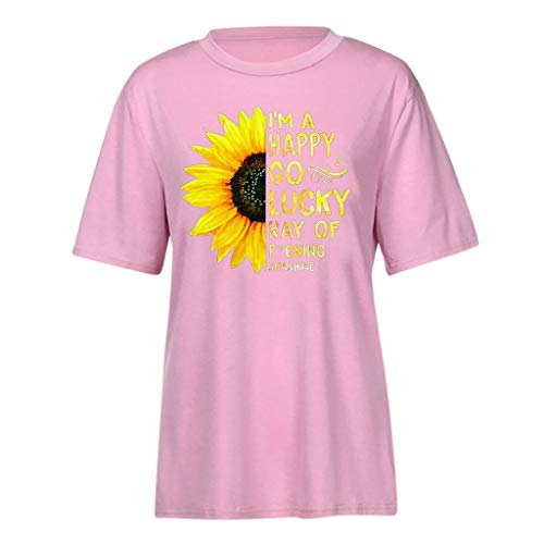 Pengy Sunflower Top Women Fashion Rise and Shine