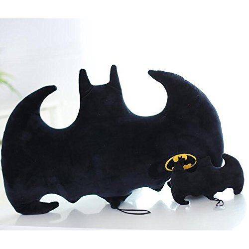 Dongcrystal Black Batman Throw Pillow Soft Plush Toy Stuffed Cushion Doll (Batman Plush Pillow)