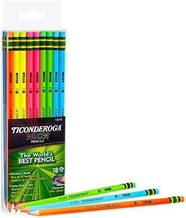 Ticonderoga Pencils Pre Sharpened 18 Count 13018 product image