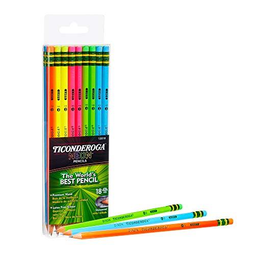 Ticonderoga Neon Pencils, #2 Pre...