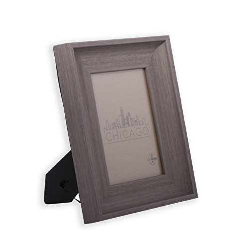 5x7 Picture Frames Dark Brown Wood - Tone Mount Desktop Display, Frames by EcoHome