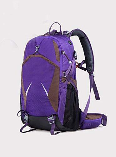 Turística De Agua Azul Capacidad 55l Alpinismo Púrpura Color Mochila Bolsas A Prueba Ultraligero Opcional tqx4nSwd0