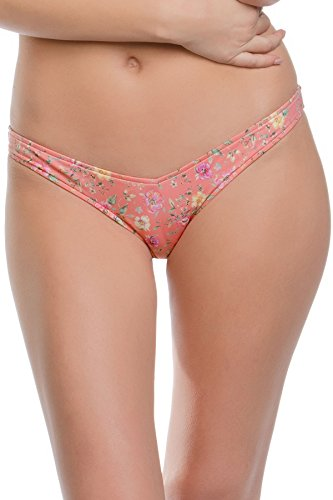 ale by Alessandra Women's Say Oui Brazilian Bikini Bottom Multi M