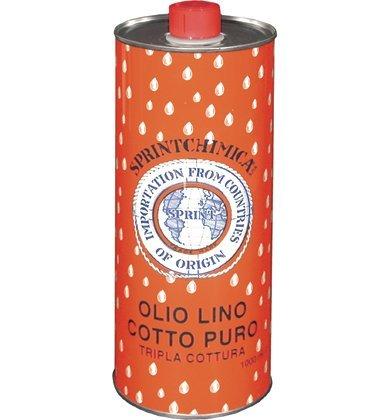 Sprintchimica Olio Di Lino Cotto: Amazon.it: Fai da te