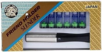 Silber Friend Holder raucht Zigarette Slender