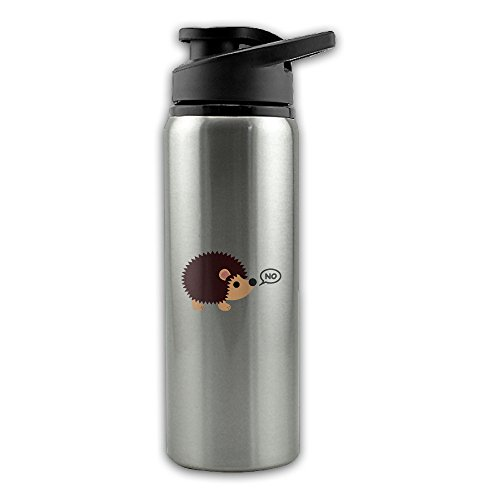 Hedgehogs Can't Share Stainless Steel Layer Sports Water Bottle With Wide Mouth 24oz