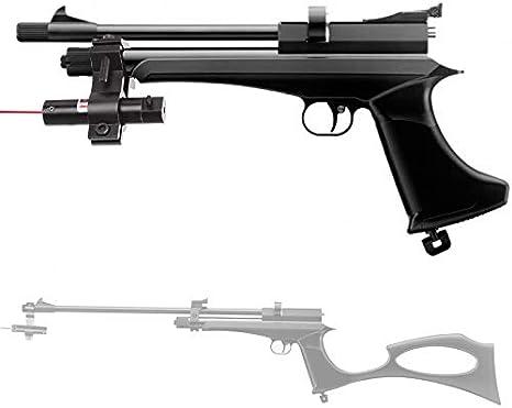 CP2 Artemis Kit Pistola de Aire comprimido Convertible en carabina/Rifle de perdigones. Escopeta de CO2 y balines 4.5mm Potencia: <3.5 Julios