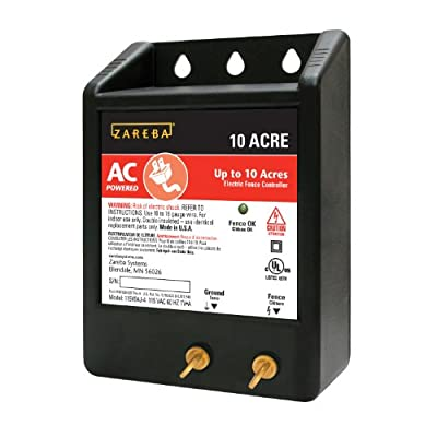 Zareba 10 ACRE AC Powered Solid State Fence Charger