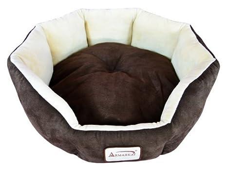 Amazon.com: Cama ovalada o redonda para perros y gatos ...