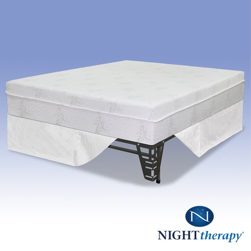 """Night Therapy 10"""" Pressure Relief Memory Foam Mattress & Bed"""