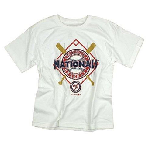 【セール 登場から人気沸騰】 Outerstuff ワシントンナショナルズ B00WTC04E4 MLB ビッグボーイ、ユース半袖Tシャツ Outerstuff、ホワイト Small Small B00WTC04E4, SanAlpha(サンアルファ):bb670402 --- a0267596.xsph.ru
