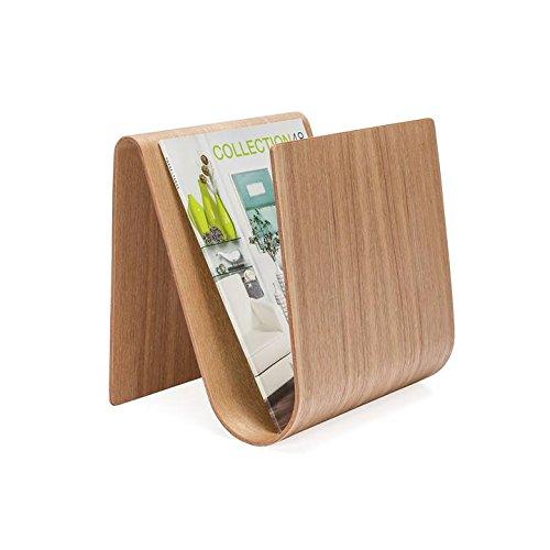 Price comparison product image Kento Curve Wooden Magazine Rack