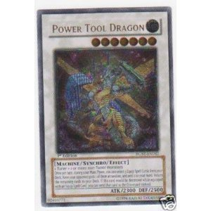 (Yu-Gi-Oh! - Power Tool Dragon (RGBT-EN042) - Raging Battle - 1st Edition - Ultimate Rare)