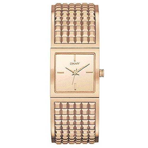 DKNY Bryant Park Rose Gold-Tone Wide Bangle Women's watch #NY2232 (Bracelet Dkny Band)
