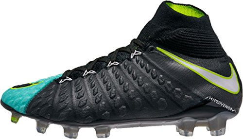 Nike Womens Hypervenom Phantom 3 Df Fg - (light Aqua / Black / Volt / White)