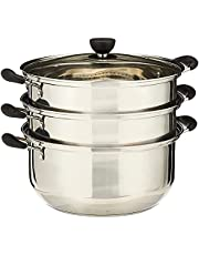 GMI Stainless Steel 3 Layers Steamer Pot