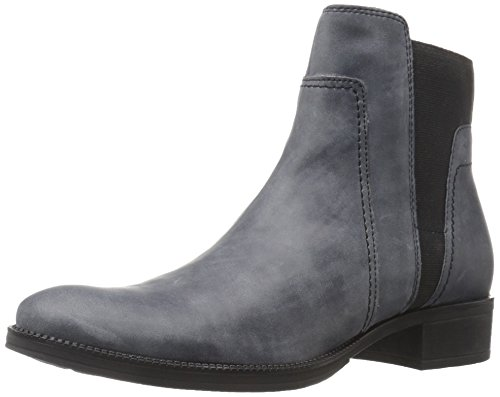 Geox Donna Meldi Stivali, Botas Chelsea para Mujer Gris (Anthracite C9004)