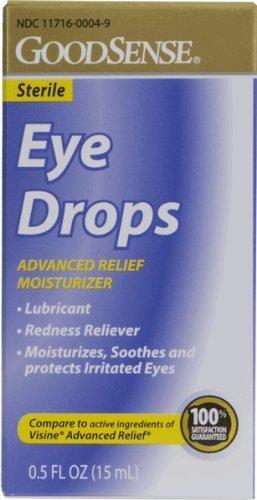 GoodSense(R) Eye Drops Advanced Relief Moisturizer . 5 oz