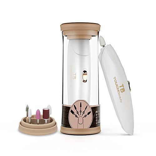 TOUCHBeauty Manicure Pedicure System Professional 5-IN-1 Acrylic Nail Tools with LED Light (TB-1333 Delicate Gift Package Version)