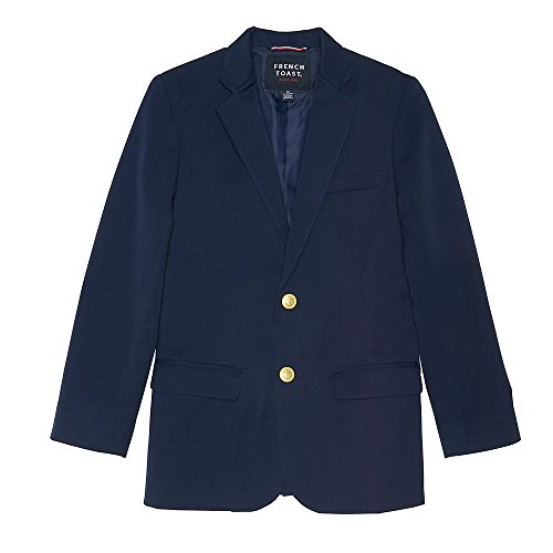 French Toast Big Boys' Classic School Blazer, Navy, 10