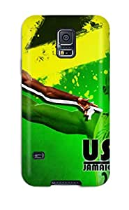 New Arrival Case Cover With Design For Galaxy S5- Usain Bolt Running