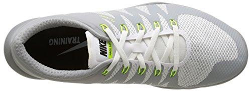Sportive Trainer Grau White Scarpe NIKE White Uomo Free mtllc Gry Grigio V6 100 5 Slvr wlf 0 TqY5zw