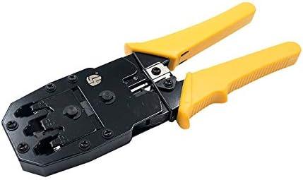 シンプルで耐久性のある 3つの圧着ペンチ多機能のオリジナルマスターツールの圧着工具を使用したネットワークペンチ4Pは/ 6P / 8Pネットワーク (Size : Style1)