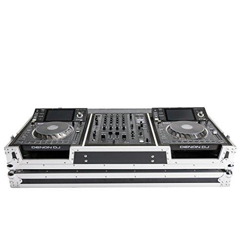 MAGMA DJ-Controller Case SC5000/X1800 Prime Heavy Duty DJ Coffin Fits Two Denon Decks With (Custom Dj Coffin)