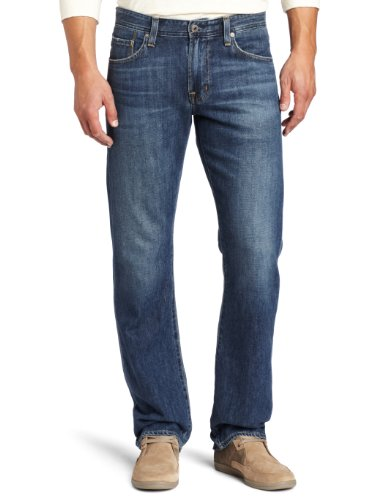 AG Adriano Goldschmied Men's The Protégé Straight Leg Jean in Tate, Tate, 36x34 by AG Adriano Goldschmied