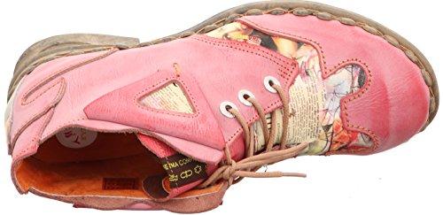 Schattiert Boots Stiefeletten Damenschuhe Damen Leder 5155 Rot TMA gxwCqUBw