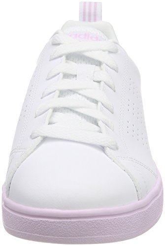 Aerpnk White Top adidas Vs UK Low Ftwwht Advantage White 000 4 Ftwwht Women's Sneakers Clean 5 qwBxS6T