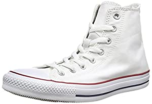 Mens Converse Chuck Taylor All Star High Top Sneakers (8.5 D(M), Optical White)