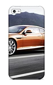 Flexible Tpu Back Case Cover For Iphone 5c - Aston Martin Virage 8