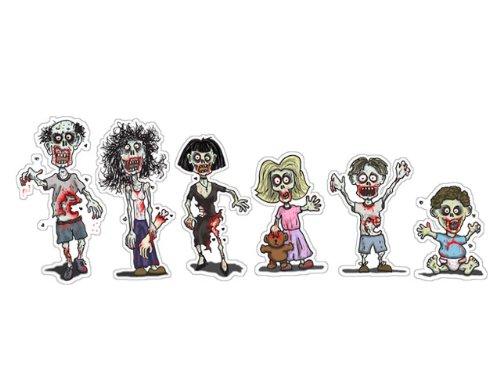 zombie family bumper sticker - 5