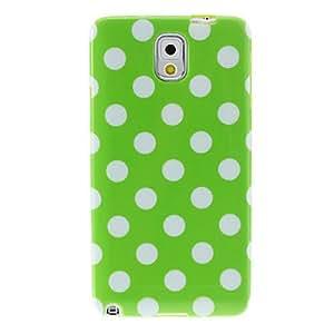 GX Teléfono Móvil Samsung - Cobertor Posterior - Diseño Especial - para Samsung Galaxy Note 3 ( , Green