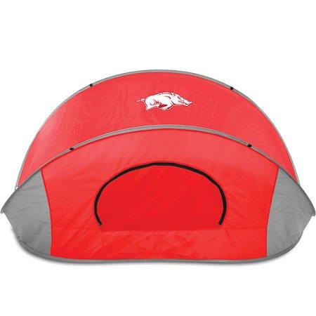 NCAA Arkansas Razorbacks Manta Portable Pop-Up Sun/Wind - Arkansas Tent Razorbacks