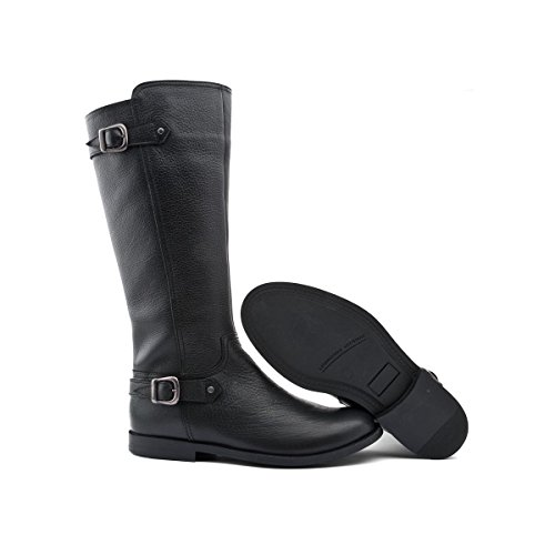Start-Rite Cavaletti, Stivale per Bambine e Ragazze (- 7 Black Leather)