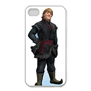 iphone4 4s Phone Case White Frozen Kristoff CLL3658597