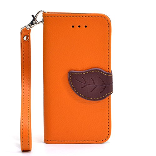 dasein-faux-leather-leaf-design-wallet-phone-case-cover-credit-card-holder-for-iphone-5-5s