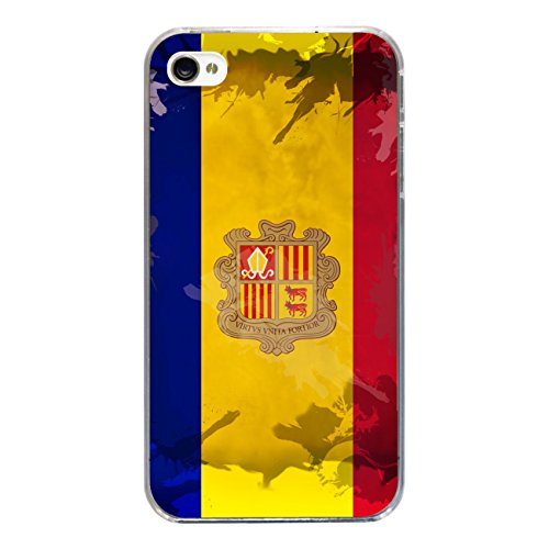 """Disagu Design Case Coque pour Apple iPhone 4s Housse etui coque pochette """"Andorra"""""""