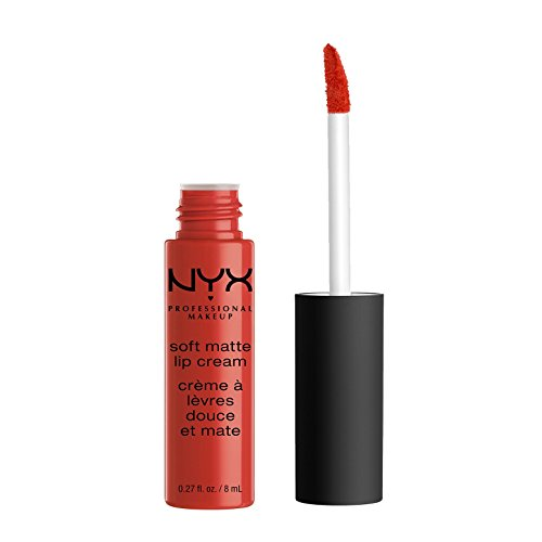 NYX Professional Makeup Soft Matte Lip Cream, Morocco, 0.27 Fluid Ounce