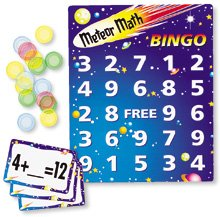 Meteor Math Bingo Addition/Subtraction by Learning Resources