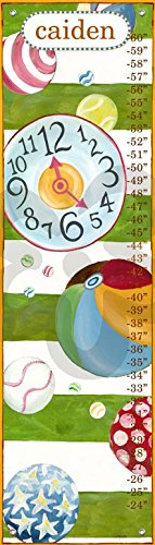 Oopsy Daisy Motion by Shelly Kennedy - Personalized Growth Charts, 12