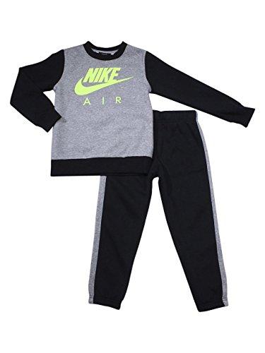 Nike Little Boys 2-Piece Air Black Fleece Shirt & Pants Set Sz: 6 by Nike (Image #1)