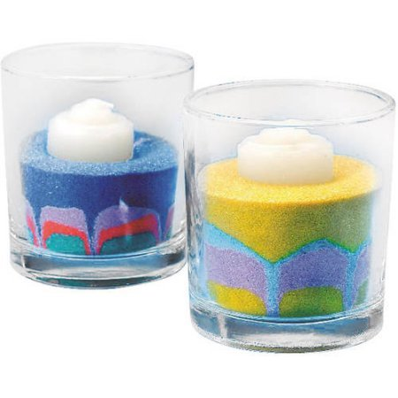 Sand Art Candles, Pack of 24