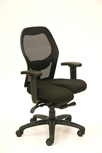 Core-flex Active Sitting Ergonomic Task Chair for Healthy Movement While Sitting w/ Mesh Back