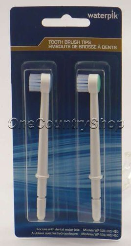Waterpik TB100E Toothbrush Replacement Tips (2 Pack) by Waterpik (Image #1)