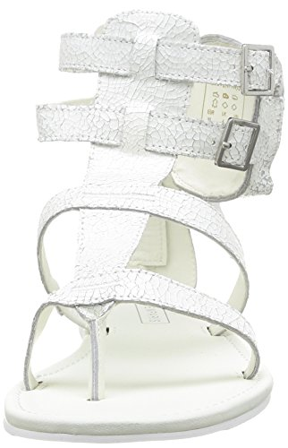 Eleven Paris Sia - Sandales Habillées En Cuir Pour Les Femmes Blanc (blanc) 41 EfCP9Ri50c