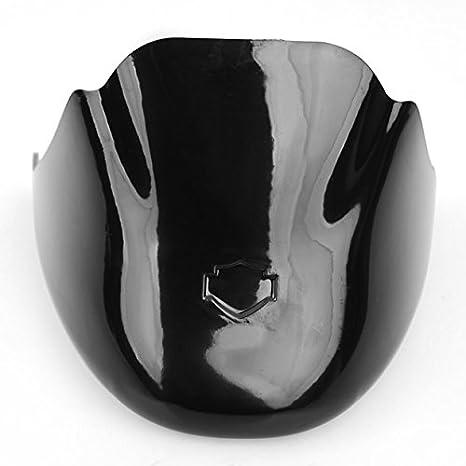 Marca nuevo negro barbilla sin pintar carenado frontal Alerón aire Dam para Harley Sportster 1200 1200 X L 883: Amazon.es: Coche y moto